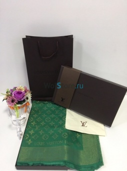 Платок LOUIS VUITTON с люрексом